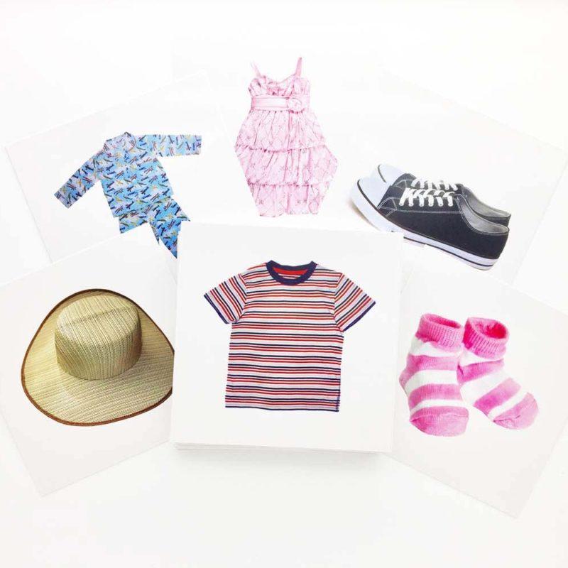 Buy Clothing Flashcards - AutismSTEP