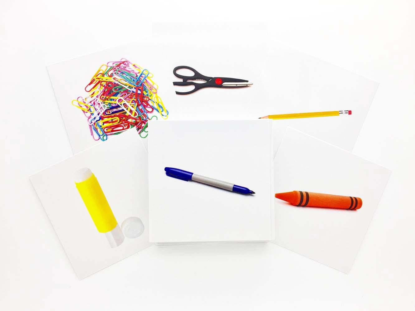 Buy Stationery Flashcards - AutismSTEP