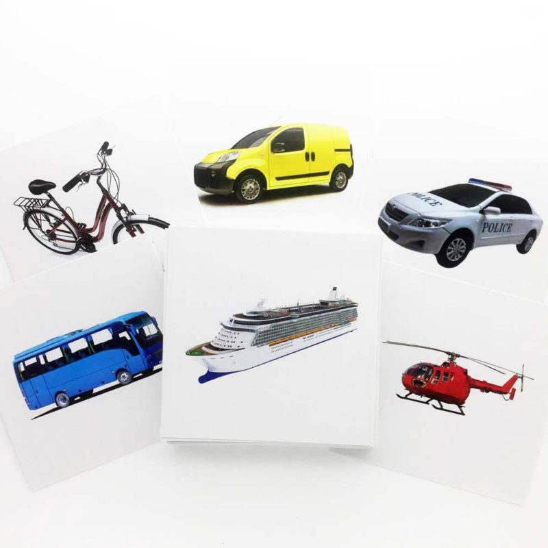 Buy Transports Flashcards - AutismSTEP