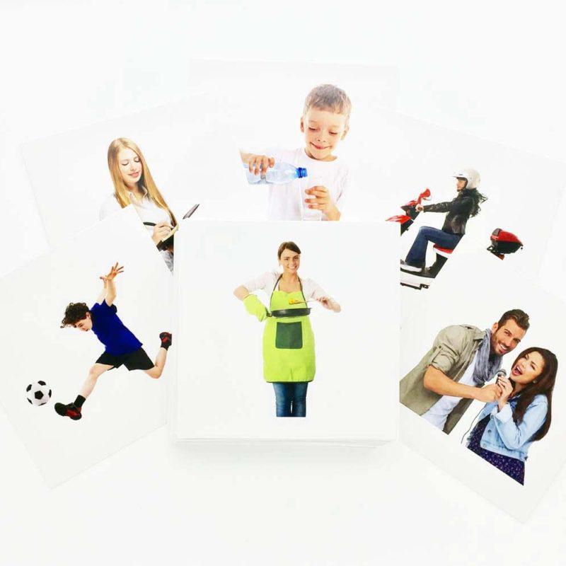 Buy Verbs (Advance) Flashcards - AutismSTEP
