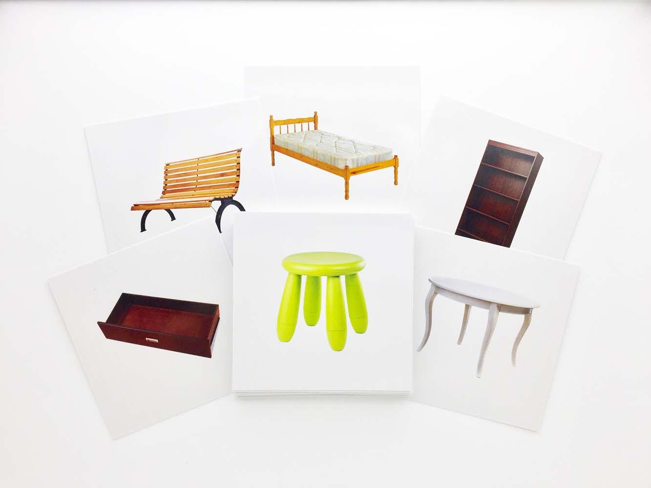 Buy Furnitures Flashcards - AutismSTEP