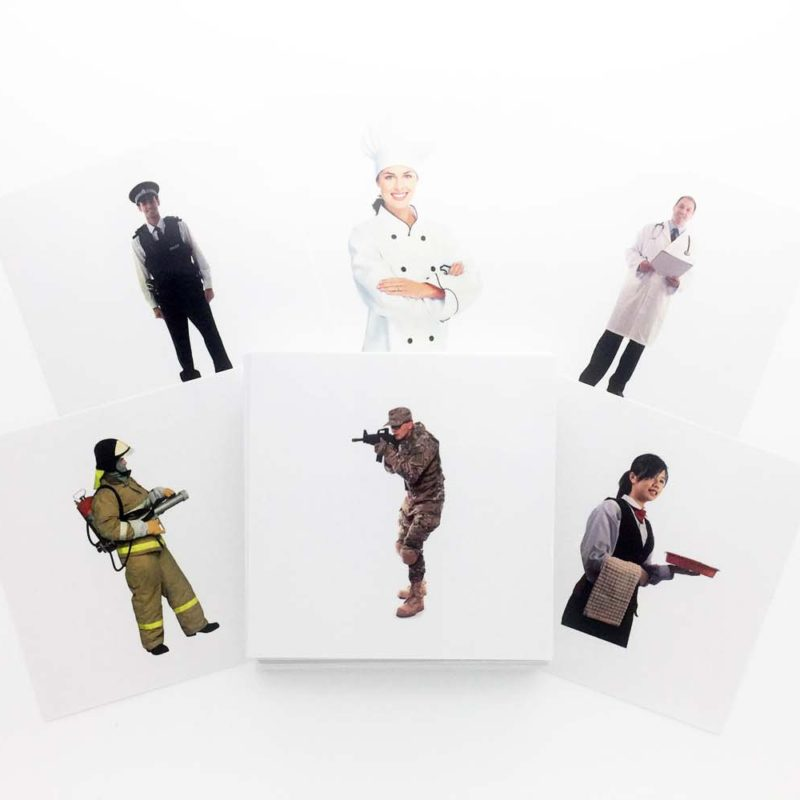 Buy Professions Flashcards - AutismSTEP