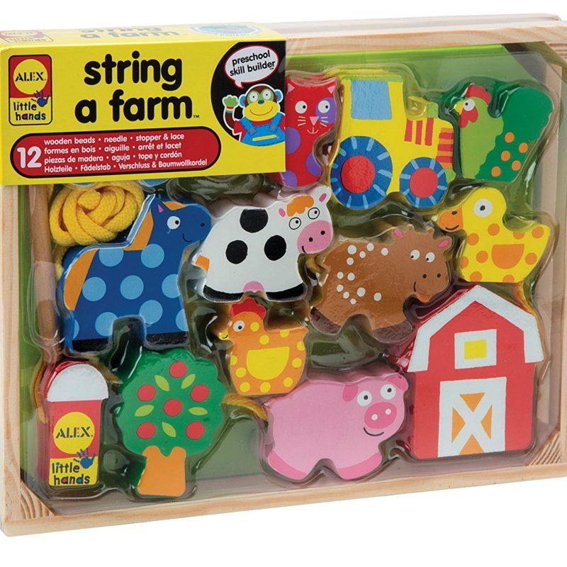 Buy ALEX Toys Little Hands String A Farm - AustismSTEP Singapore