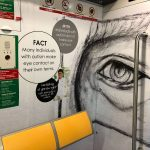 Downtown Line train, stations showcase work by artists with autism