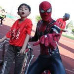 Record 571 people with special needs take part in inclusive run
