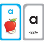 A for Apple Alphabet Flash Cards Product Image - AutismSTEP
