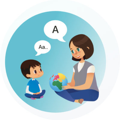 AutismSTEP Singapore Service Vector Image - Speech Therapy