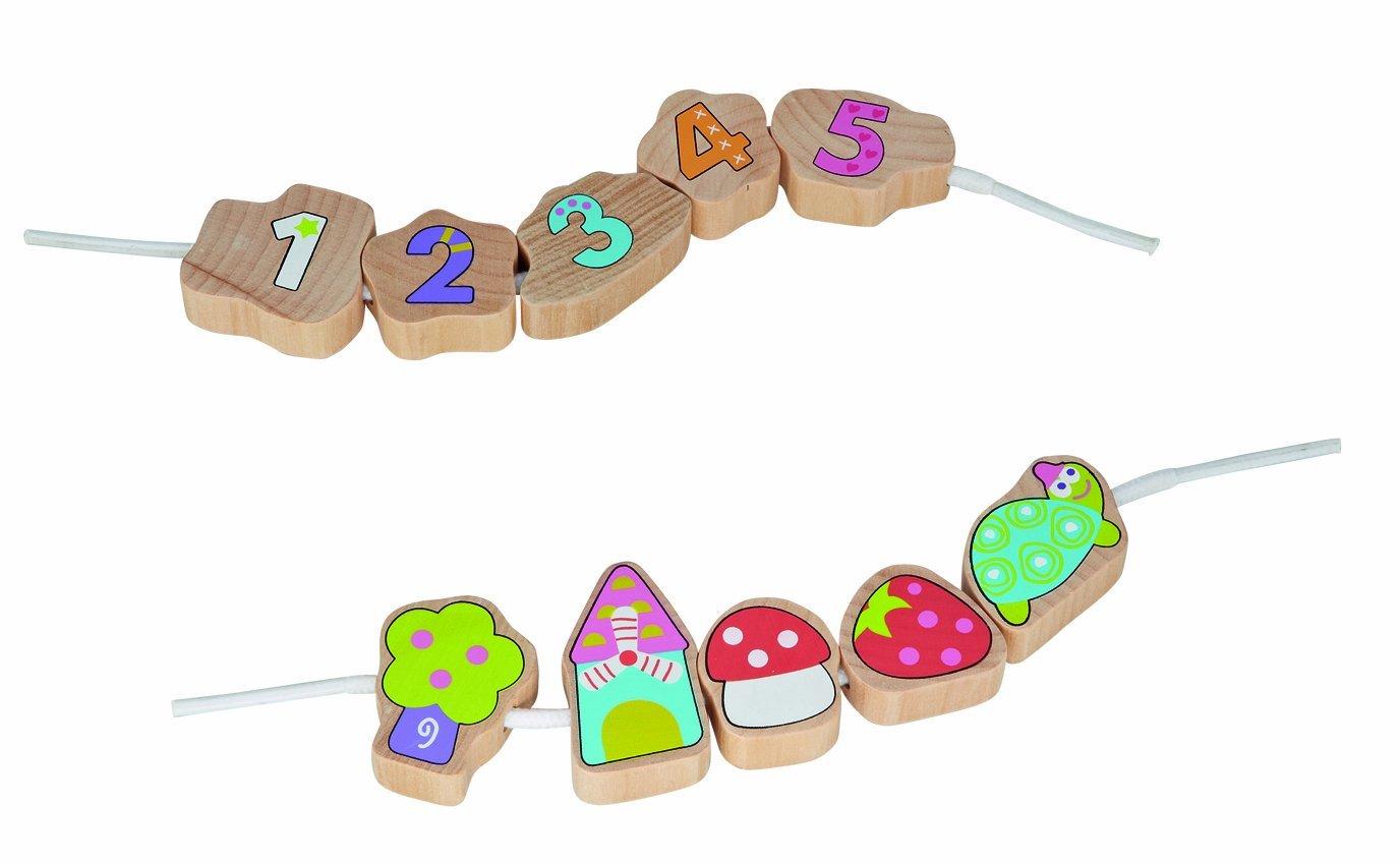 Wooden Threading Beads