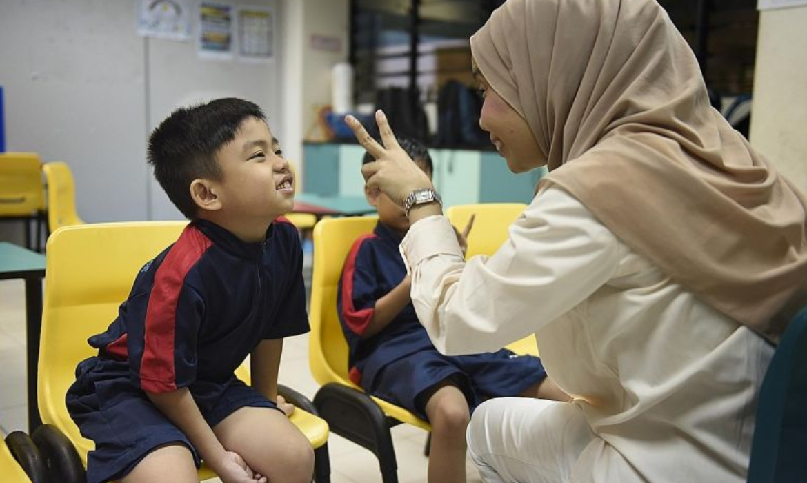 8-year-old boy with autism finally gets to go to school