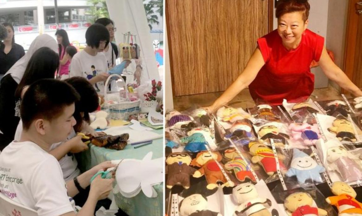 Kids with autism make 53 plushies for National Day