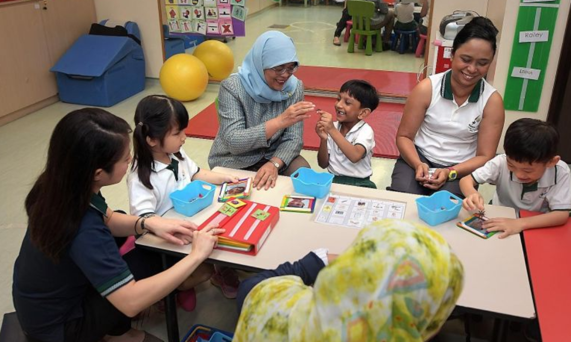 President Halimah calls for greater support for special needs children