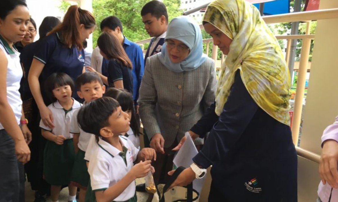President Halimah Yacob calls for more support for children with special needs
