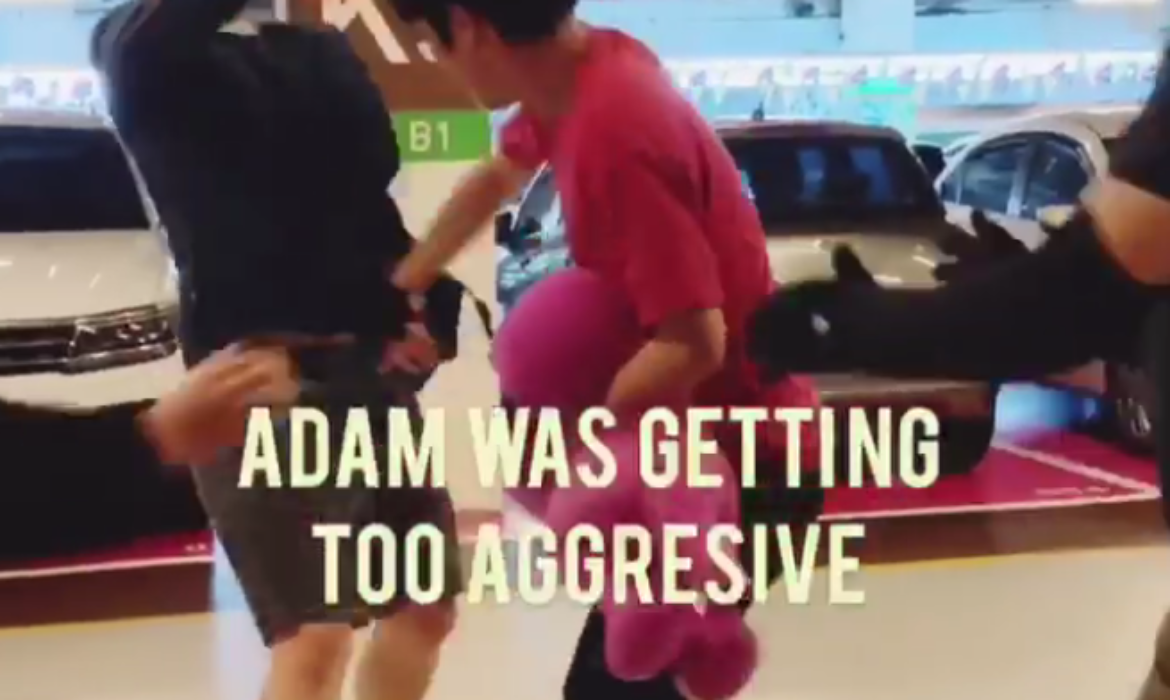 Loving father shares a video of his son's aggressive meltdown to raise autism awareness