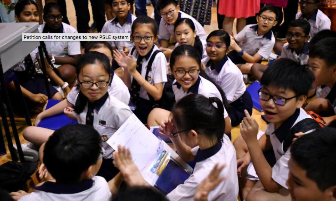 Petition calls for changes to new PSLE system