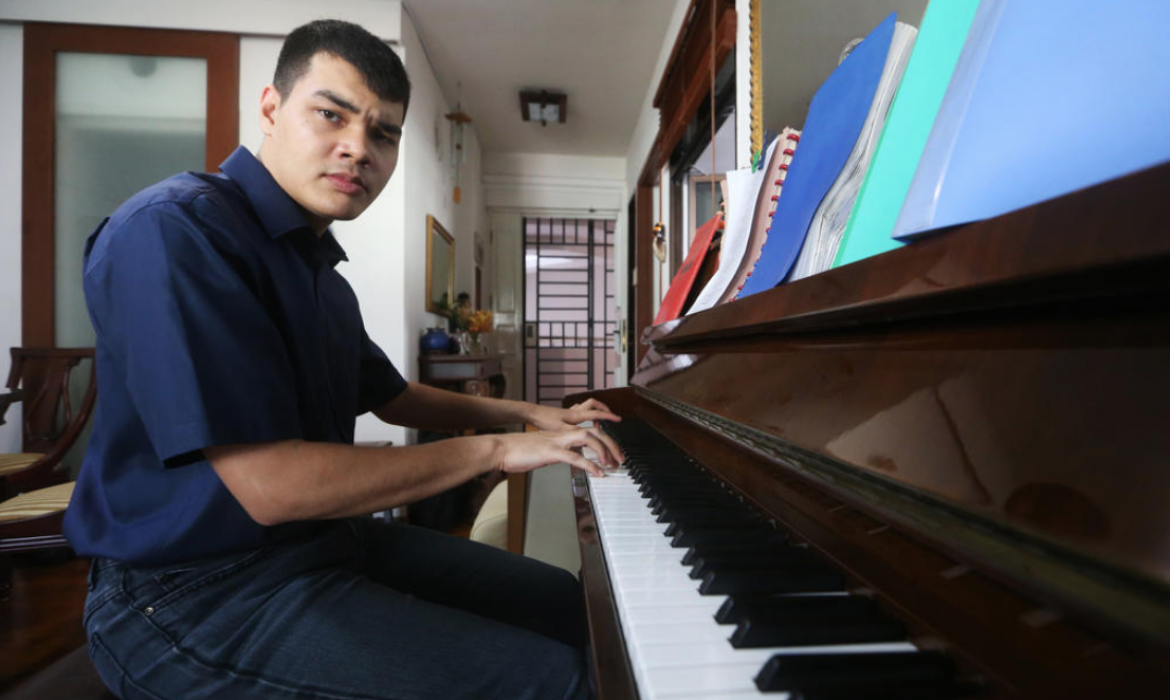 'Music is the language he uses': How Joshua German overcomes autism to become an award-winning pianist
