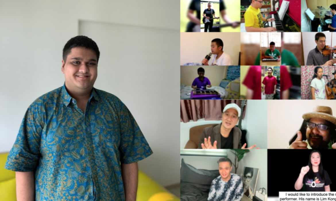 Rejected by talent shows, S'porean with autism organises online concerts for youths with special needs – AutismSTEP