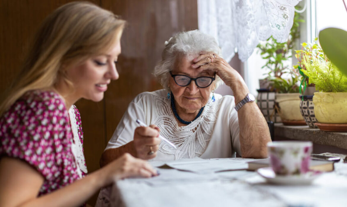 Grand Mother and Grand Daugther Talking - 'Theory of mind' does not fade with age among autistic adults