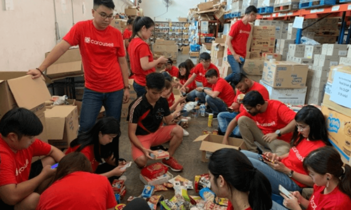 Iron Nori and Carousell Local Businesses, Inspiring Empathy and Altruism