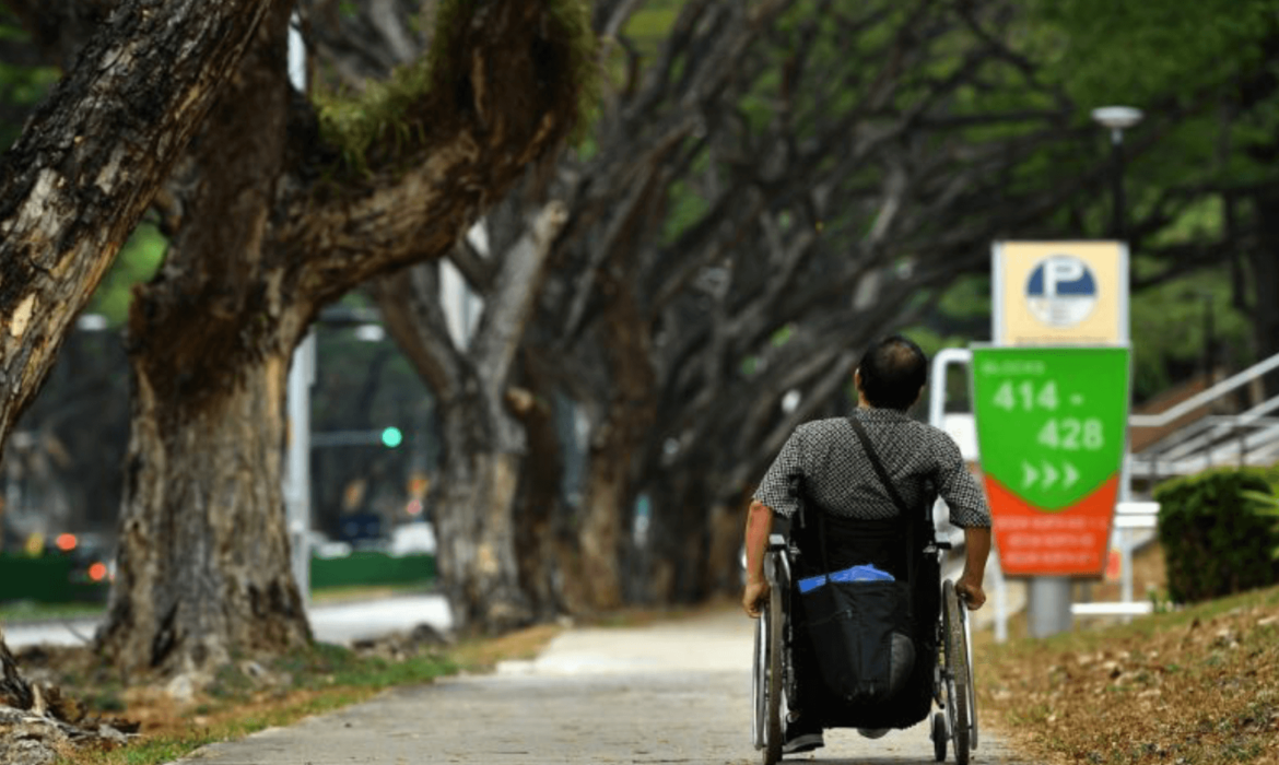 Man in Wheel Chair - Empower people with disabilities to stand as equals