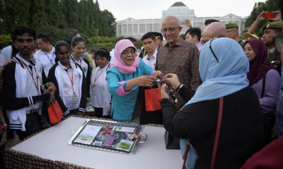 New President's Challenge memorabilia launched at Istana's Open House