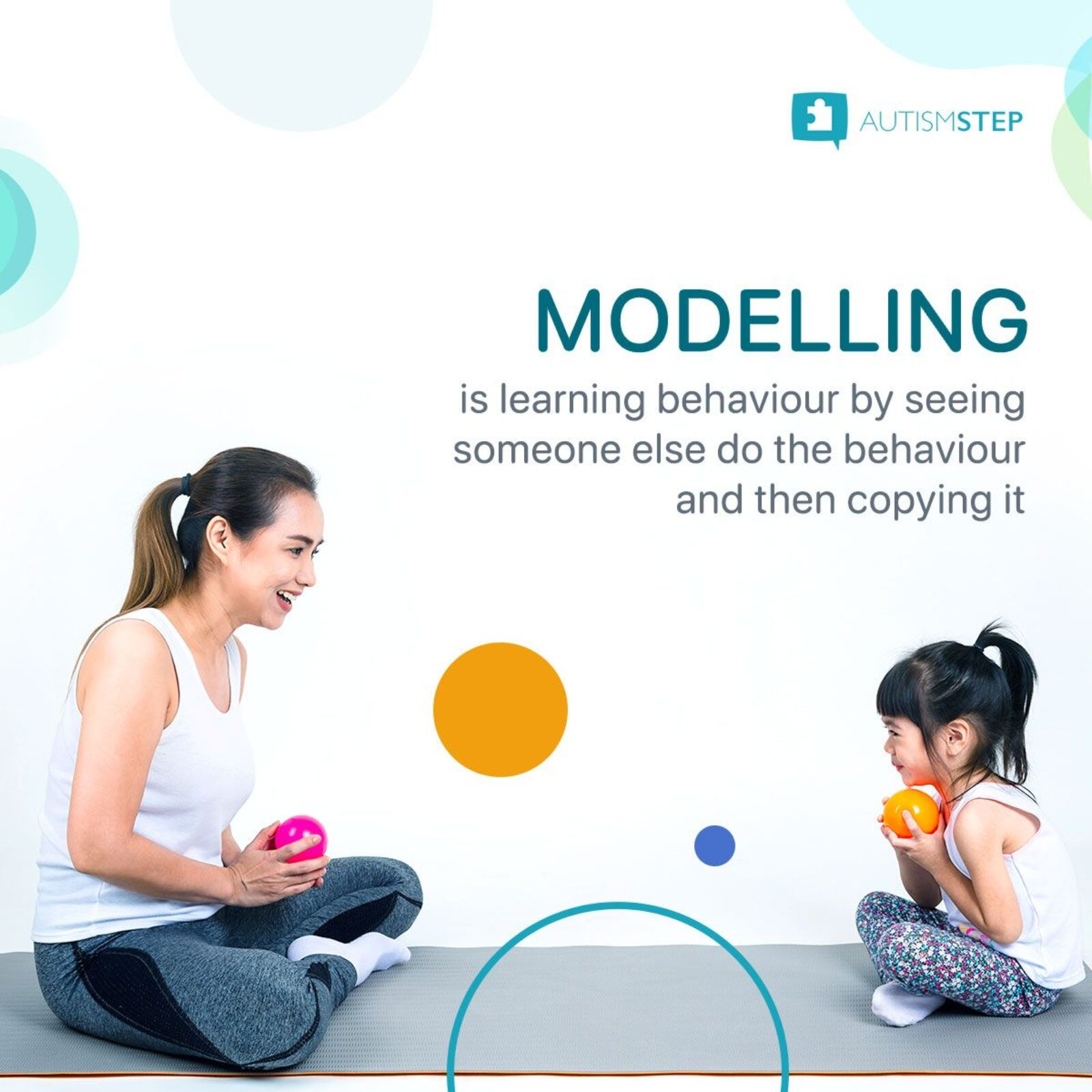AutismSTEP - Modelling Techniques For Children With Autism